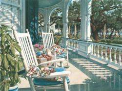 View from the Veranda Outdoors Jigsaw Puzzle