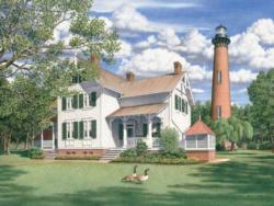 Currituck Afternoon Lighthouses Jigsaw Puzzle