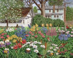 Secret Garden Garden Jigsaw Puzzle