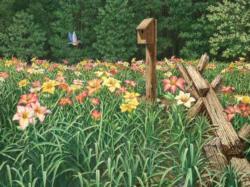 Daylily Days Garden Jigsaw Puzzle