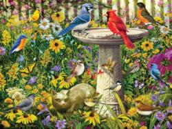 Garden Party Garden Jigsaw Puzzle