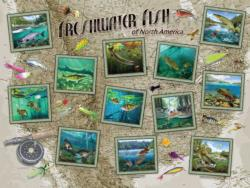 Freshwater Fish of North America Fish Jigsaw Puzzle