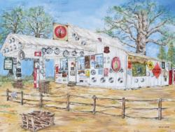 Groceries & Gas General Store Jigsaw Puzzle