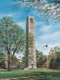 Memorial Bell Tower Landmarks / Monuments Jigsaw Puzzle