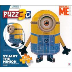 Puzz3D - Stuart The Minion Movies / Books / TV Children's Puzzles