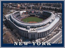New York - Yankee Stadium Baseball Jigsaw Puzzle