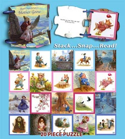 Mother Goose Puzzlebook Fantasy Jigsaw Puzzle