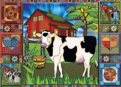 Countryside feeling Farm Animals Jigsaw Puzzle