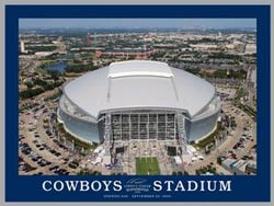 Cowboys Stadium Sports Jigsaw Puzzle