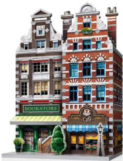 Café - Urbania Skyline / Cityscape 3D Puzzle