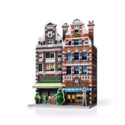 Café - Urbania Skyline / Cityscape Jigsaw Puzzle