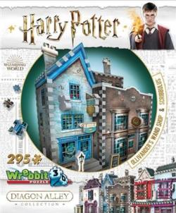 Ollivander's Wand Shop & Scribbulus - Scratch and Dent Harry Potter 3D Puzzle