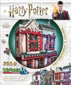 Quality Quidditch Supplies & Slug & Jiggers Apothecary Harry Potter 3D Puzzle