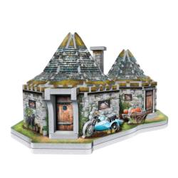 Hagrid's Hut Harry Potter 3D Puzzle