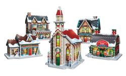 Christmas Village Christmas Large Piece