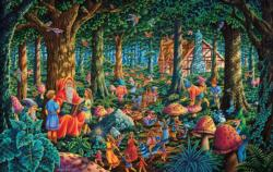 Fairytale Forest Fairies Jigsaw Puzzle