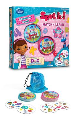 Spot It! 2-in-1 Doc McStuffins Strategy Games