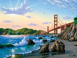 Bridge View Bridges Jigsaw Puzzle