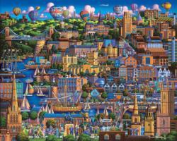 Bristol Seascape / Coastal Living Jigsaw Puzzle