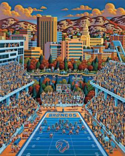 Boise State Broncos Football Jigsaw Puzzle