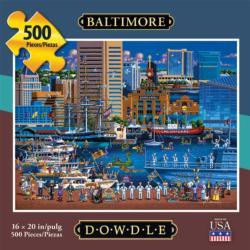 Baltimore Americana & Folk Art Jigsaw Puzzle