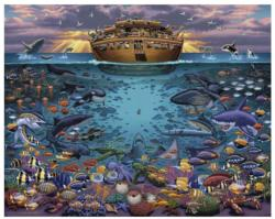 Noah's Ark Under the Sea Animals Jigsaw Puzzle