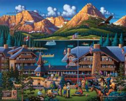 Glacier National Park National Parks Jigsaw Puzzle