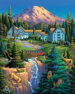 Mt Ranier National Park National Parks Jigsaw Puzzle
