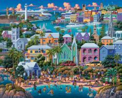 Bermuda Seascape / Coastal Living Jigsaw Puzzle
