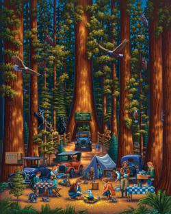 Redwood National Park National Parks Jigsaw Puzzle