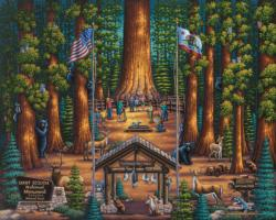 Sequoia National Park Wildlife Jigsaw Puzzle