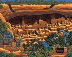 Mesa Verde National Park National Parks Jigsaw Puzzle
