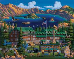 Crater Lake National Park National Parks Jigsaw Puzzle