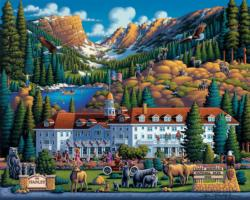 Rocky Mountain National Park Wildlife Jigsaw Puzzle