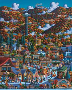 Smoky Mountain National Park National Parks Jigsaw Puzzle