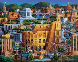 Rome Landmarks Jigsaw Puzzle