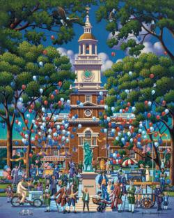 Independence Hall National History Park Patriotic Jigsaw Puzzle