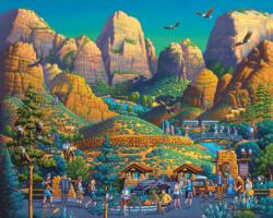 Zion National Park Nature Jigsaw Puzzle