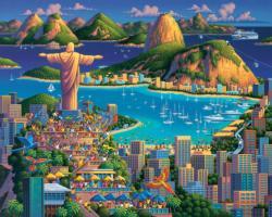 Rio De Janeiro South America Jigsaw Puzzle