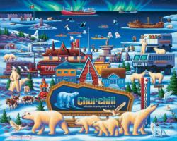 Churchill Polar Bears Canada Jigsaw Puzzle