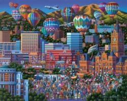 Celebrate Utah Americana & Folk Art Jigsaw Puzzle