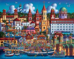St. Augustine Americana & Folk Art Jigsaw Puzzle