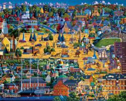 Best of Massachusetts Boston Jigsaw Puzzle