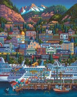 Skagway Americana & Folk Art Jigsaw Puzzle