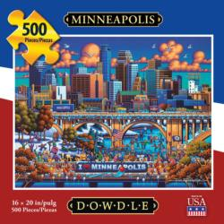 Minneapolis Americana & Folk Art Jigsaw Puzzle