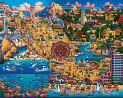 Best of Mexico Americana & Folk Art Jigsaw Puzzle