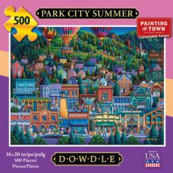 Park City Summer Americana & Folk Art Jigsaw Puzzle