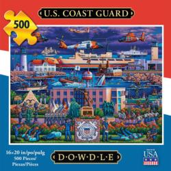 U.S. Coast Guard Military / Warfare Jigsaw Puzzle