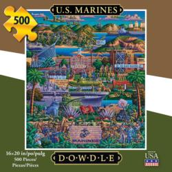U.S. Marines Military / Warfare Jigsaw Puzzle