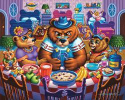 The Three Bears 500 Piece Americana & Folk Art Jigsaw Puzzle